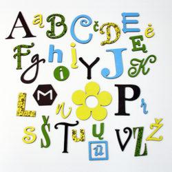 Linksmoji abėcėlė – Gamtos spalvos